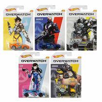 Hot Wheels - Set de 5 Miniaturas - Overwatch  - GDG83 -