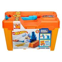 Hot Wheels Track Builder Barrel Box - Mattel