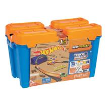 Hot Wheels Track Builder Kit Completo Laranja - Mattel