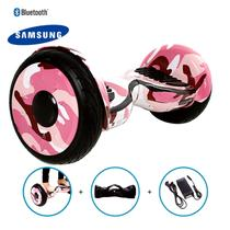 "Hoverboard 10"" Pink Millitary Hoverboard Bateria Samsung Bluetooth Smart Balance Com Bolsa -"