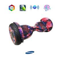 Hoverboard 10 Pol ZForce GALÁXIA com Bolsa, LEDs Frontais, Bluetooth e Bateria Samsung - Smart balance