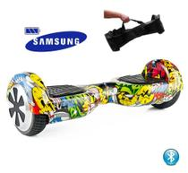 "Hoverboard 6.5"" Clowns Bluetooth  - Bateria Samsung - Smart balance wheel"