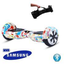 "Hoverboard 6.5"" Tuya Bluetooth  - Bateria Samsung - Smart balance wheel"