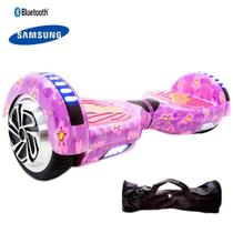Hoverboard 6,5  Purple Flowers Hoverboardx Bat Samsung+bolsa -