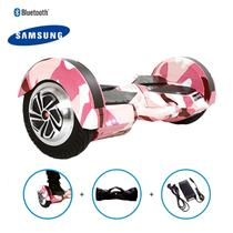 "Hoverboard 8"" Pink Millitary Hoverboard Bateria Samsung Bluetooth Smart Balance Com Bolsa -"