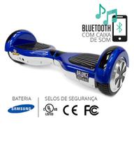 Hoverboard balance wheel azul e branco two dogs