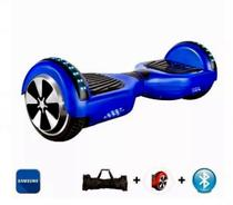 Hoverboard Skate Electrico Led Bluetooth Balance 6,5 - Azul -