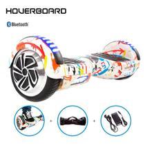Hoverboard Skate Elétrico 6,5 Grafite Hoverboard Bluetooth -