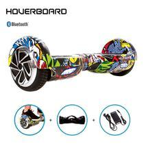 Hoverboard Skate Elétrico 6,5 Hip-Hop Barato Bluetooth Led -
