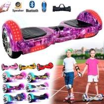 hoverboard - smarte balance whell - skate elétrico - com leds na frente, rodas e para-lamas. - Moto-Chefe