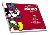 HQ Anos de Ouro de Mickey: Mickey no Mundo do Amanhã 1943-1944 Walt Disney Edição de Colecionador - Abril -