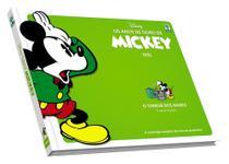 HQ Anos de Ouro de Mickey: O Terror dos Mares 1935 Walt Disney Edição de Colecionador Capa Dura - Abril -