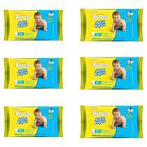 Huggies Baby Wipes Lenços Umedecidos C/48 (Kit C/06) -
