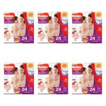 Huggies Supreme Care Fralda Infantil Roupinha XG C/24 (Kit C/06)