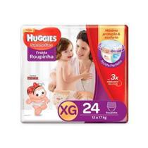 Huggies Supreme Care Fralda Infantil Roupinha XG C/24 -