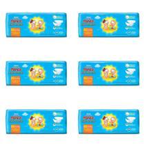 Huggies Tripla Proteção Fralda Infantil XG C/8 (Kit C/06) -