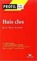 Huis Clos 1944 - Hatier -