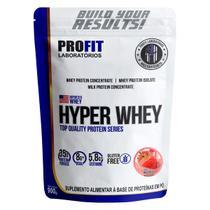 Hyper Whey 900g Morango - Profit -
