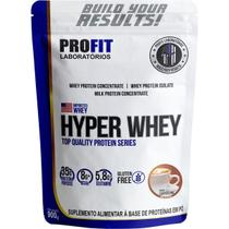 Hyper Whey - 900g Refil Cappuccino - Profit - Profit Laboratório