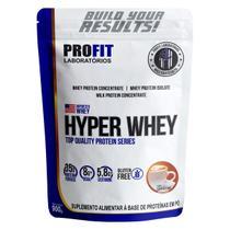 Hyper Whey Refil 900g - Cappuccino - Profit -