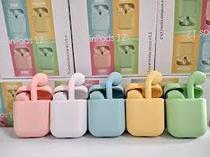I12 Inpods Tws Estéreo Touch Fone de Ouvido Sem Fio Wireless Bluetooth V5.0 - Artx