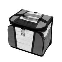 Ice Cooler Dobrável Com Alça E Bolsos 7.5 Litros 9 Latas Mor -