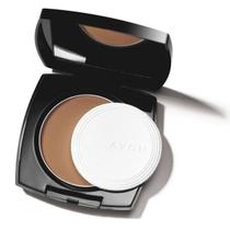 Ideal Face Pó Compacto Facial Chocolate Avon 11g -