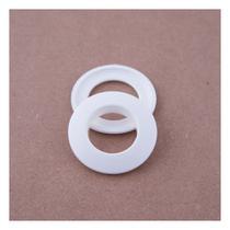Ilhós Branco Para Cortina Redondo 19mm C/10 Unid - Wiler-K