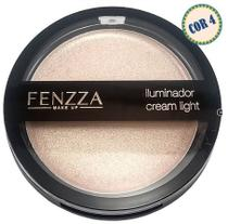 Iluminador Cream  Light Fenzza- Iluminador Cremoso, Escolha a Cor -