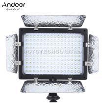 Iluminador de Led Andoer W160 6000k Com Aba -