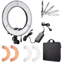 Iluminador de led circular greika ring light rl12