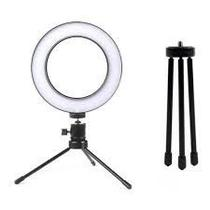 Iluminador De Led Com Tripe Ring Light Usb 16cm 6 Polegadas - Ebai