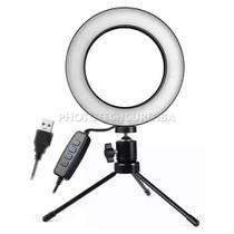 Iluminador de Led Ring Light 16cm 48 Led + Mini Tripé - Selens