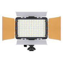 Iluminador Led Foto Vídeo Filmagem Luz Branca 160 Turbo Para Câmera CANON EOS 60D - TREV -