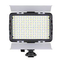 Iluminador Led Foto Vídeo Filmagem Luz Branca E Amarela Bi-color 160 Turbo Para Câmera CANON EOS 60D - TREV -