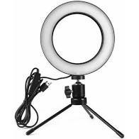 Iluminador RING LIGHT Com tripé M6 - Sos