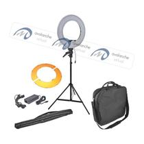 Iluminador Ring Light LED 35cm RL-12 com Tripé 2m - Greika