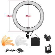 Iluminador Ring Light Led - 48cm Com Difusor - Leadwin