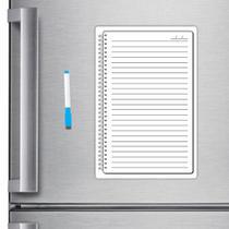 Ímã De Geladeira Caderno Porta Recados 20 X 30cm Planner Cad01 - Micro Oficina