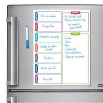 Ímã De Geladeira - Porta Recados - Modelo Colorido 02 - Micro Oficina
