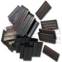 Imã Retângular para Geladeira e Artesanato 9,5 x 20 x 2 mm - Pacote com 50 Peças - Imatec
