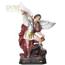 Imagem Anjo São Miguel Resina 30cm Importada - Sacro