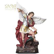 Imagem São Miguel Arcanjo Resina Importada 20cm - Sacro