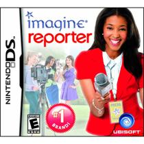 Imagine Reporter Jogo Infantil Nintendo Ds Ubisoft -
