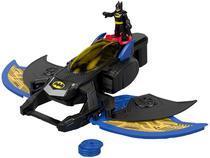 Imaginext Batwing Lançador de Projéteis - DC Super Friends com Acessórios Fisher-Price