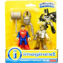 Imaginext Boneco DC Superman e Metallo - Fisher-Price