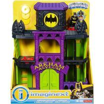 Imaginext Dc Boneco Batman Playset Arkham Mattel -