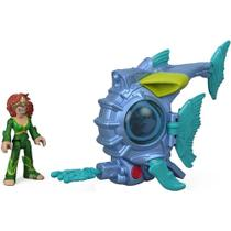Imaginext DC Super Friends Aquaman - Mera Submarino de Batalha - Fisher Price