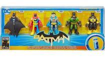 Imaginext Dc Super Friends Batman 80º Aniversário - Gld99 - Mga