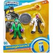 Imaginext Dc Super Friends Charada E Duas Caras - Mattel - Mga
